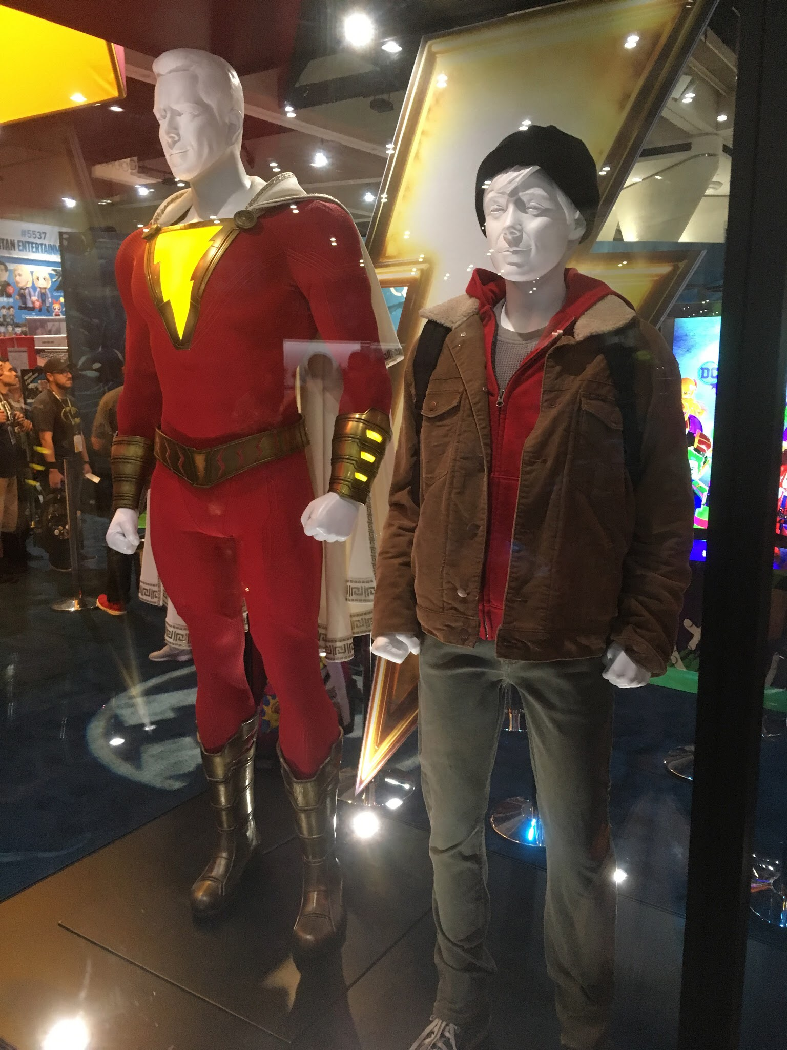 Shazam and billy Batson 2
