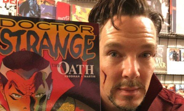 Benedict Cumberbatch and comic
