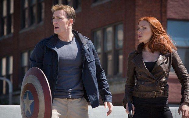 Captain America Winter Soldier 1