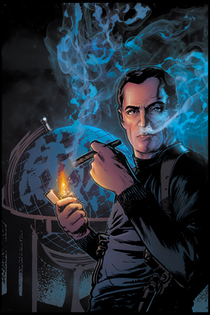 DC Comics Character Art-Maxwell Lord