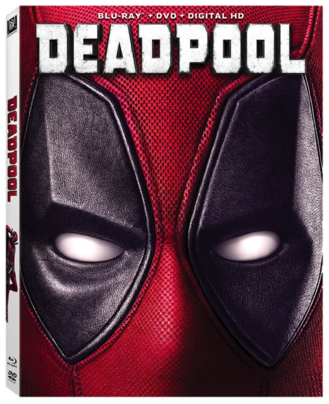 Deadpool Blu Ray Cover