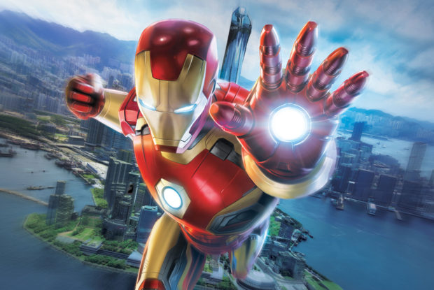 Hong Kong Iron Man 2
