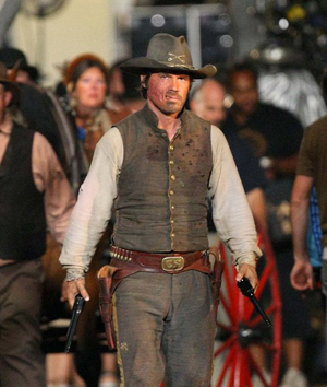 May 30, 2009: Josh Brolin photographed on the set of his latest movie 'Jonah Hex', which co-stars actress Meagan Fox (not pictured), in New Orleans. Credit: INFphoto.com Ref: infusny-04