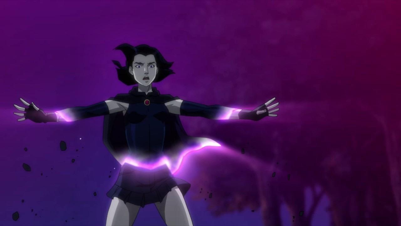 Justice League Vs Teen Titans Raven