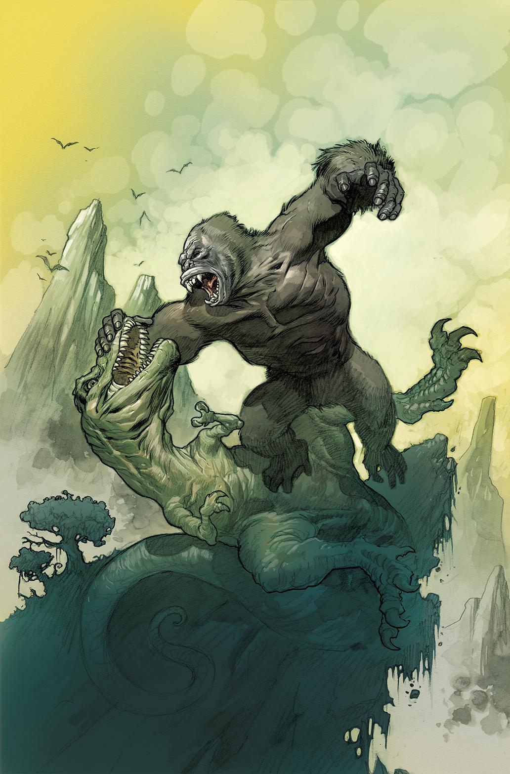 Kong Skull Island Eric Powell