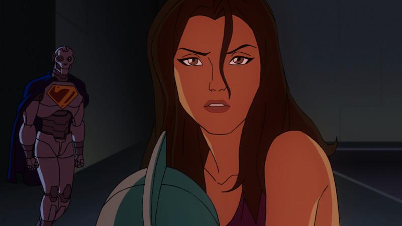 Lois with gun