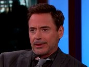 Robert Downey Jr on Jimmy Kimmel