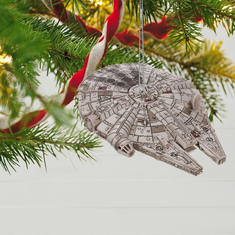 Star-Wars-Millennium-Falcon-Ornament-With-Light-and-Sound