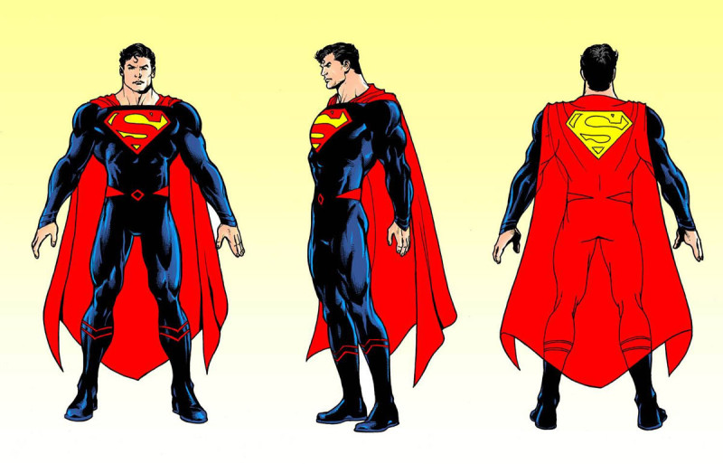 Superman Rebirth Costume