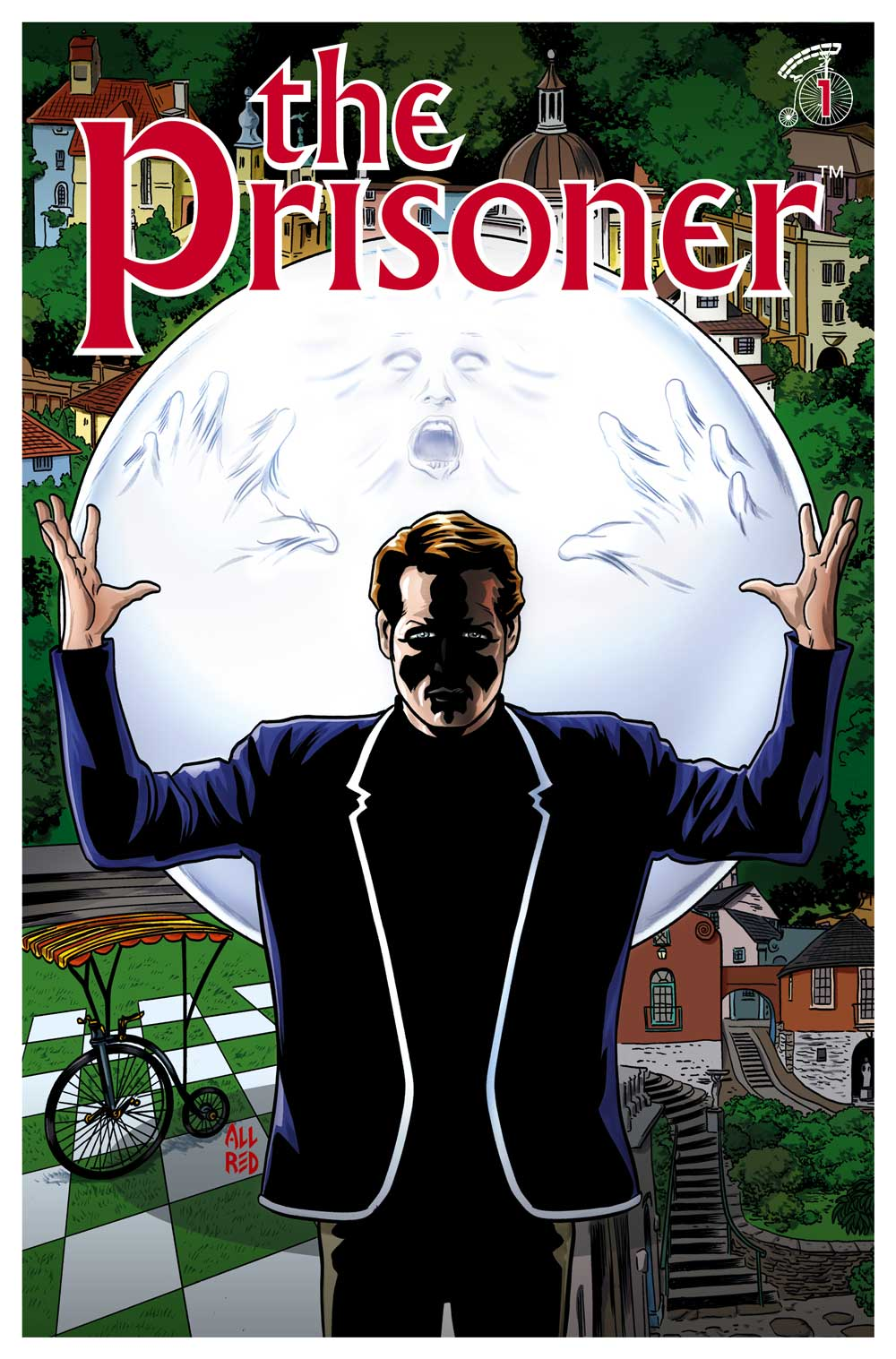 The-Prisoner-Issue-1-Cover-A-Mike-Allred