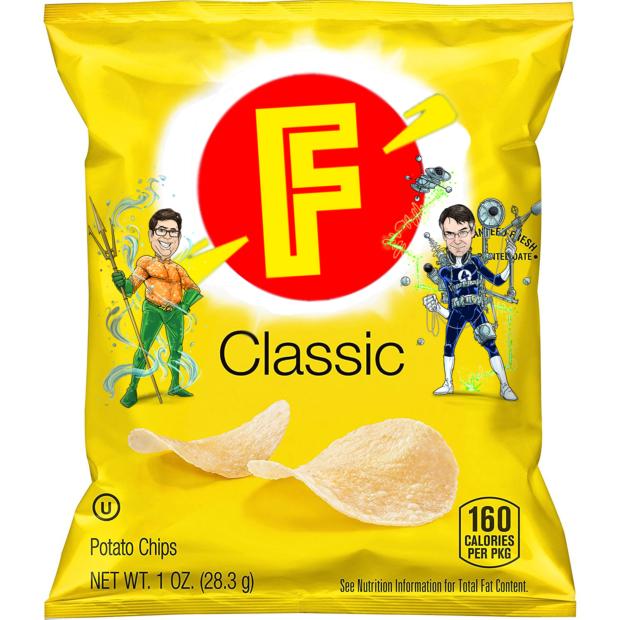 Mmmmm.... salty snacks.