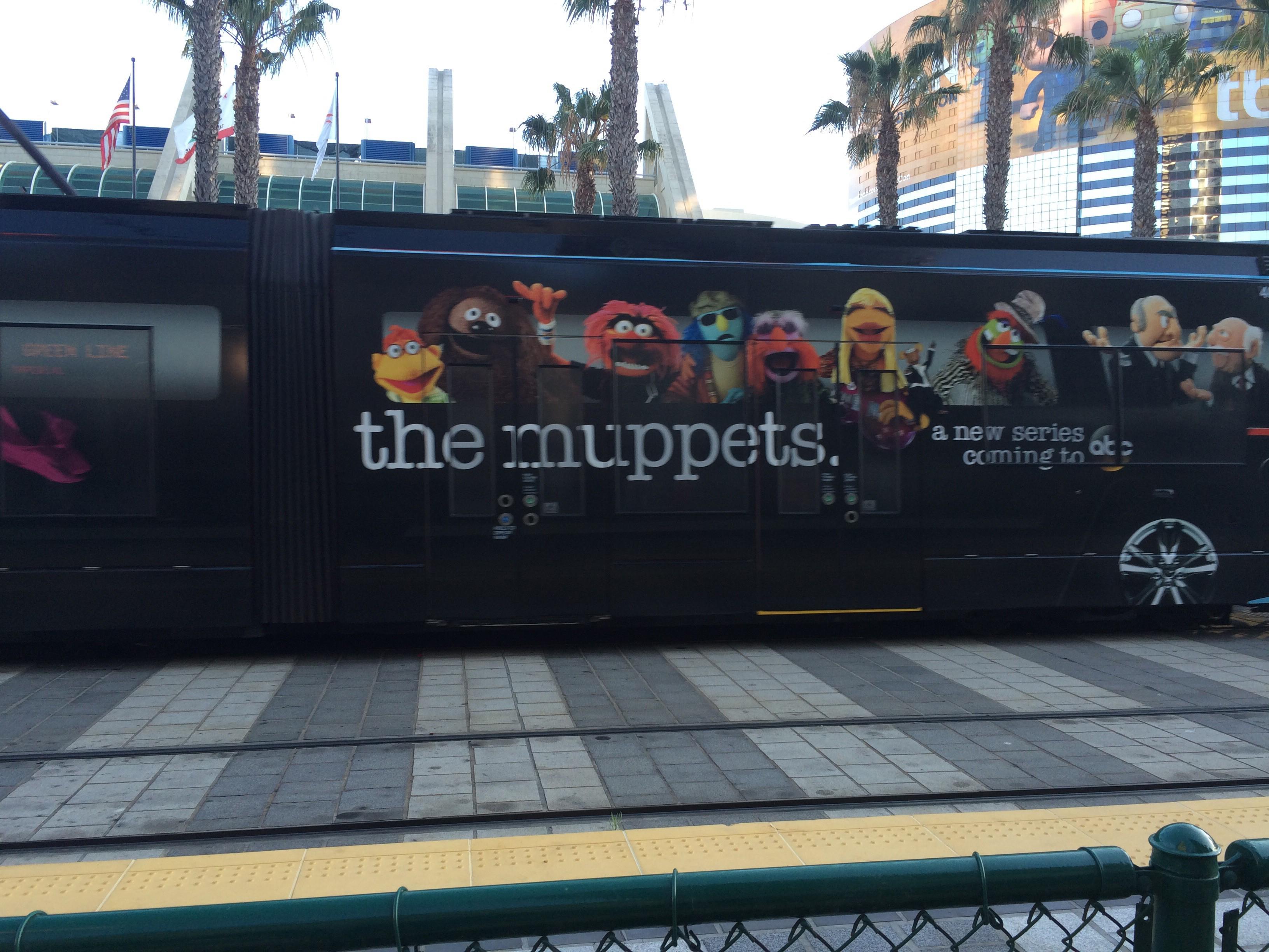 MuppetTrain
