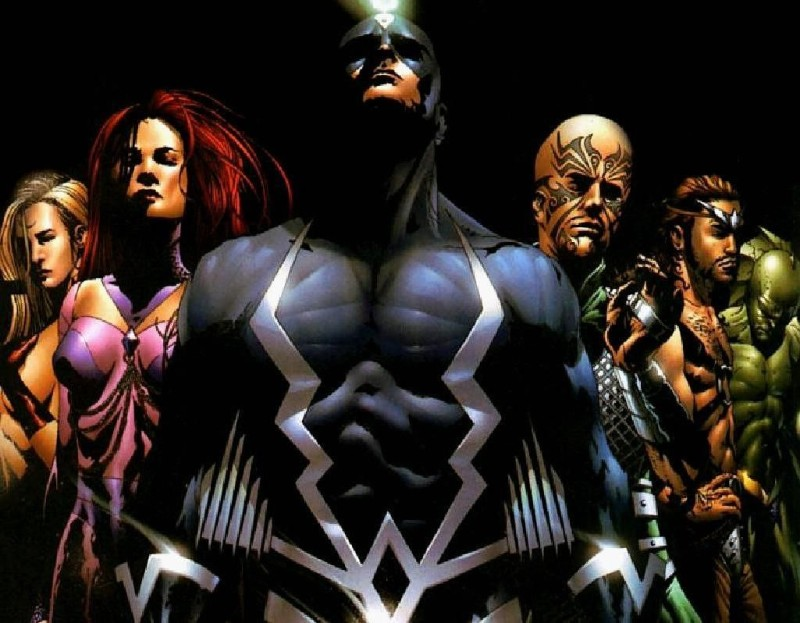 inhumans art