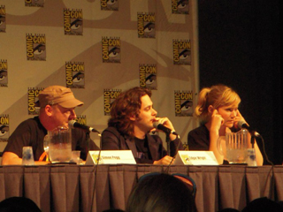 The trio at Comic-Con. (photo by Steph Rodriguez)