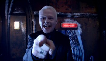Simon Pegg in Doctor Who... he wants to play YOU next...
