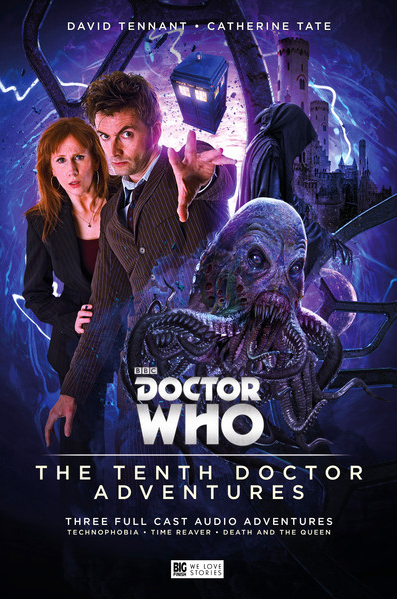 Big Finish Releases Cover Art For 10th Doctor Adventures