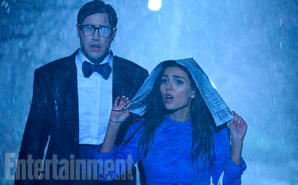 THE ROCKY HORROR PICTURE SHOW:   L-R:  Ryan McCartan and Victoria Justice.