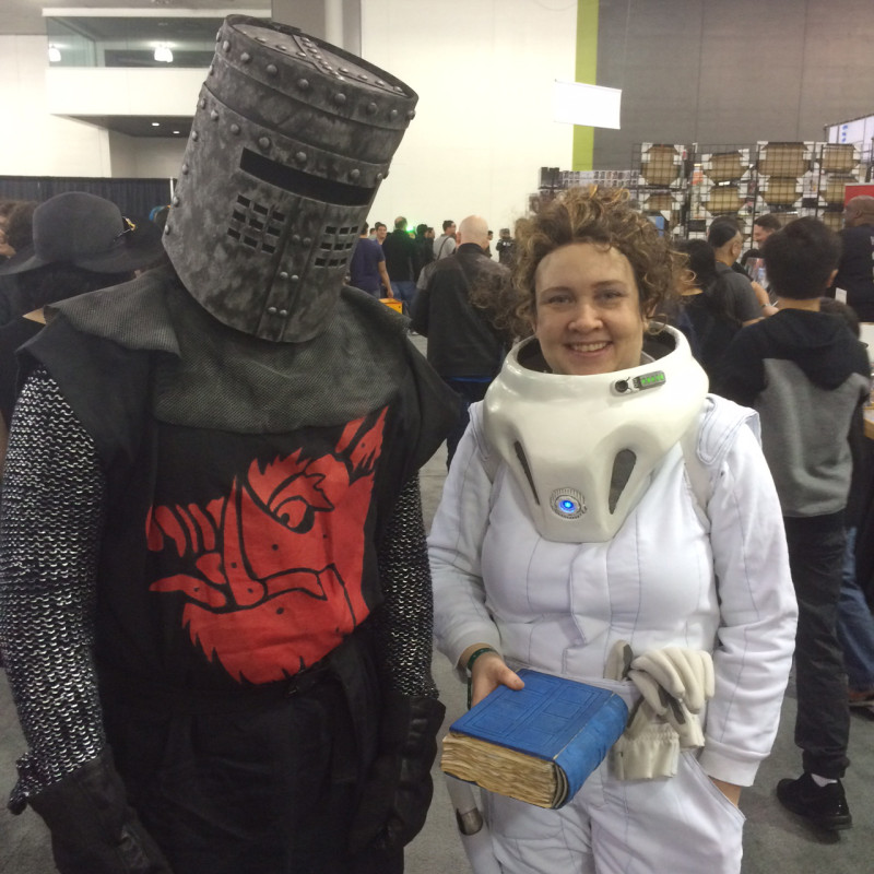 One of our favorite cosplaying couples.