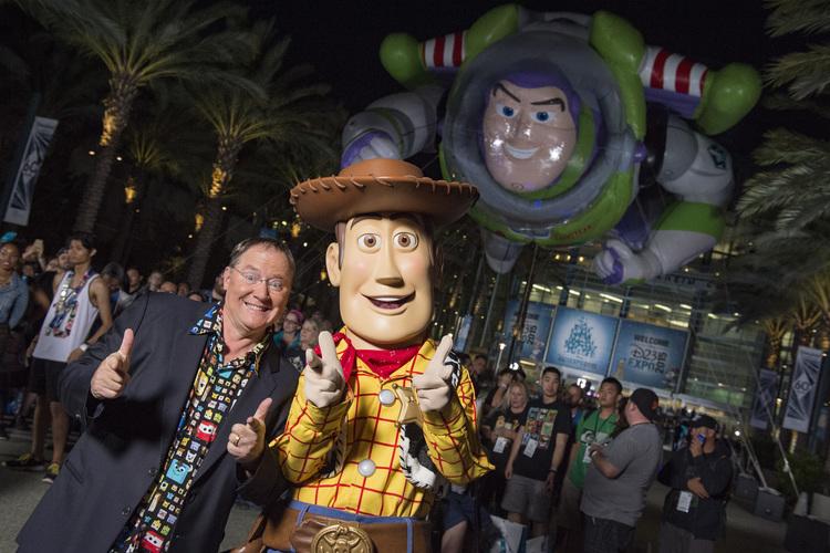 JOHN LASSETER (Chief Creative Officer, Walt Disney and Pixar Animation Studios; Principal Creative Advisor, Walt Disney Imagineering), WOODY