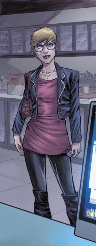 DC Comics Art-Patty Spivot