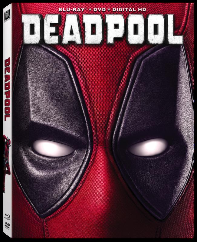 Deadpool Blu Ray Cover