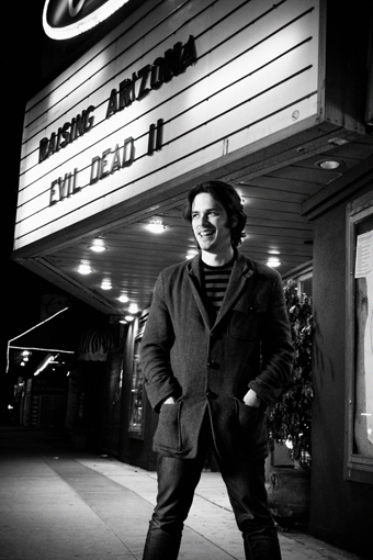 Edgar Wright gone Hollywood. (photo courtesy of Piper Ferguson)