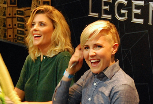 Electra Woman and Dyna Girl Comic- Con 3