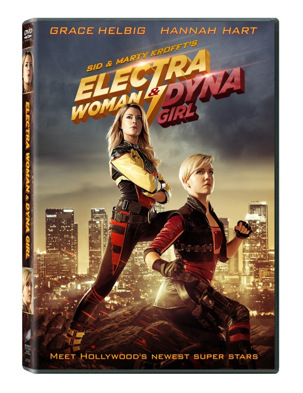 Electra Woman and Dyna Girl DVD Box Art