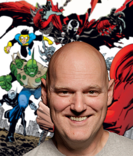 Erik Larsen and a few friends