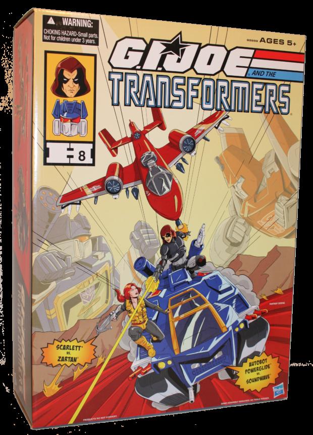 G.I. JOE AND THE TRANSFORMERS Set_pkg