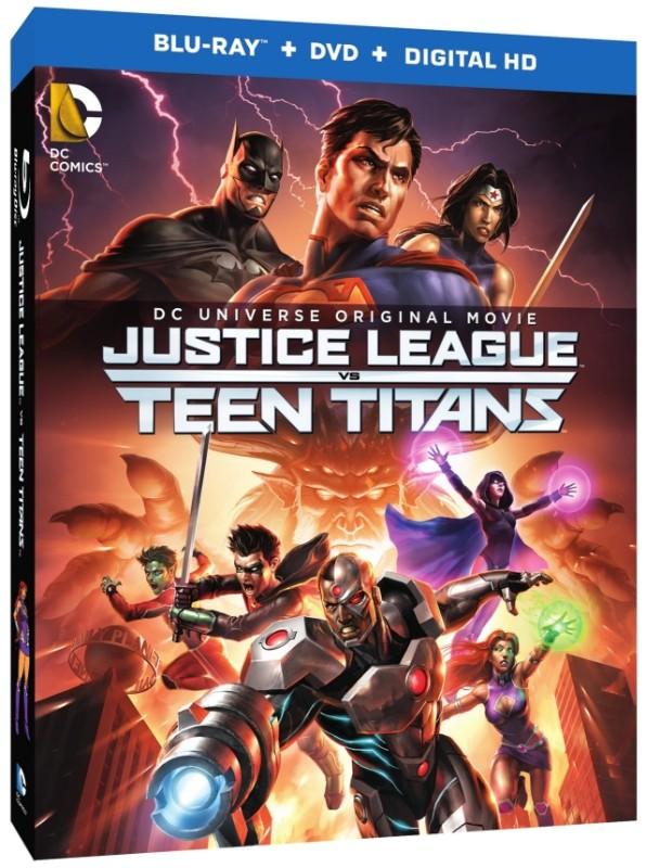 Justice League vs Teen Titans bluray