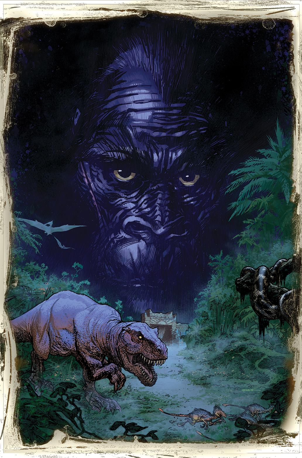 Kong Skull Island Ryan Sook