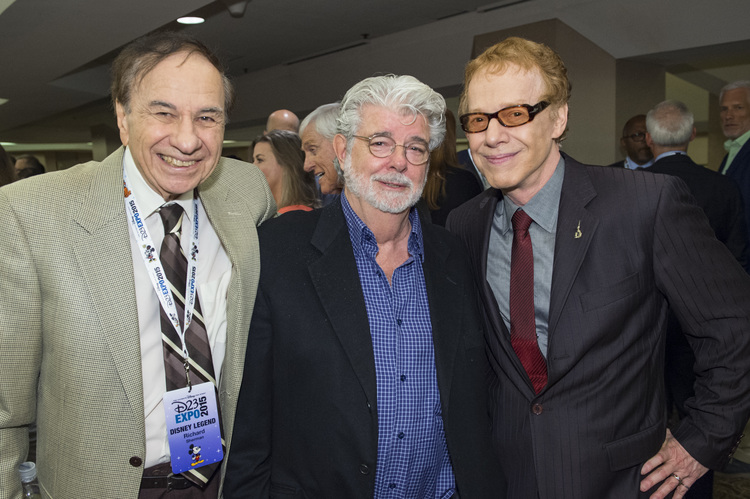 RICHARD SHERMAN, GEORGE LUCAS, DANNY ELFMAN