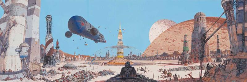 Moebius-landscape