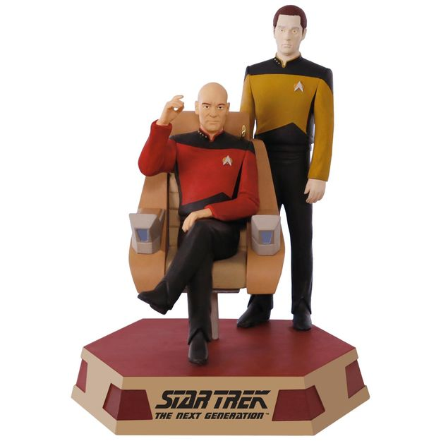 Picard-and-Data-Ornament