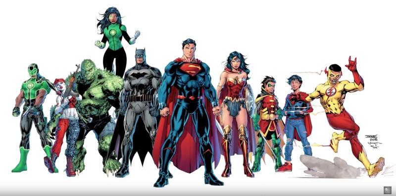 DC Rebirth - Jim Lee