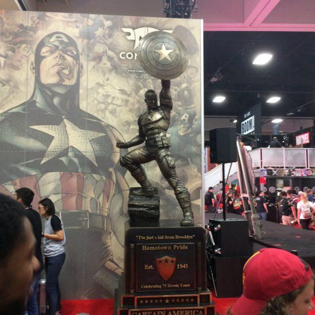 SDCC-Captain-America-Statue