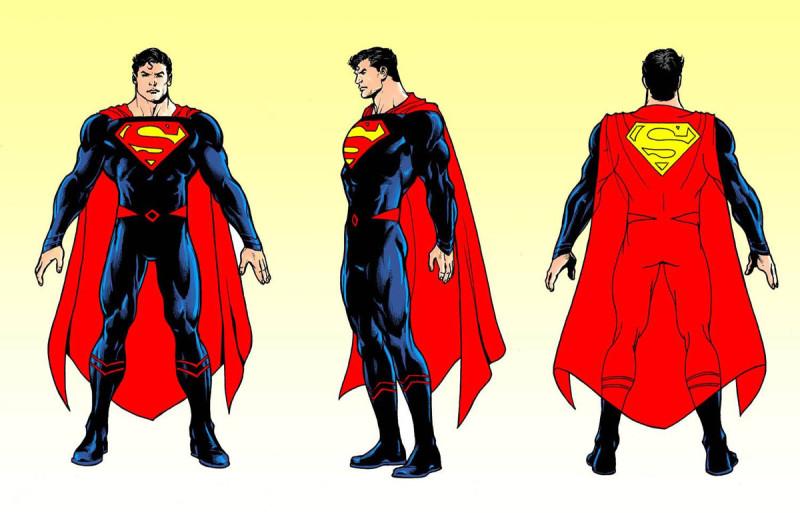 Superman Rebirth Costume