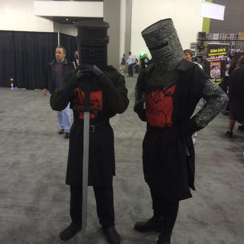 Three Days, Two Knights.