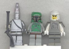 After an encounter with The Tall Man, these three bounty hunters slave away in an hellish alternate dimension.